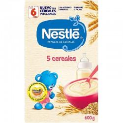 Nestle papillas 5 cereales