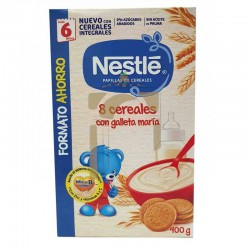 Nestle papillas 8 cereales...