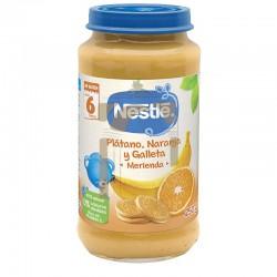 Nestle tarritos platano...