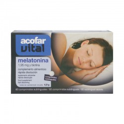 Acofarvital melatonina 1.95 mg