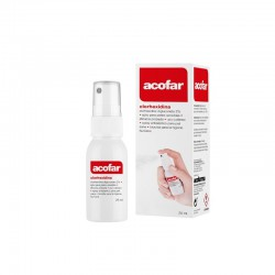 Acofar clorhexidina 2 % spray