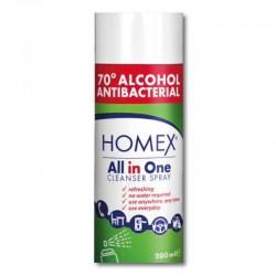 Homex spray 70% alcohol...