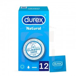 Durex easy natural plus 12 uds