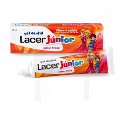 Lacer junior gel fresa 75ml