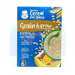 Gerber 8 cereales con frutas
