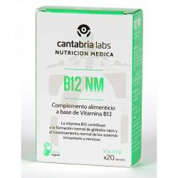 B12 nm 20 cápsulas