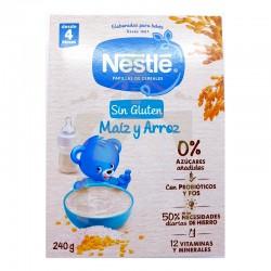 Nestle maíz y arroz sin gluten