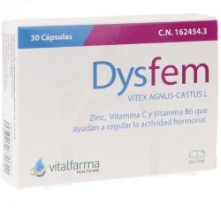 dysfem 30 capsulas vitalfarma