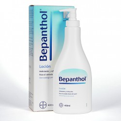 Bepanthol locion 400 ml.