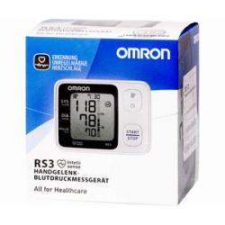 Omrom tensiometro rs3 muñeca