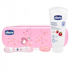 Chicco set denticion rosa...