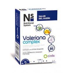NS VALERIANA COMPLEX 15 COMP