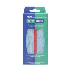FARMAFLOSS HILO DENTAL 100 UDS
