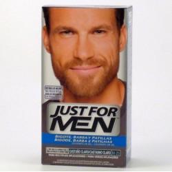 Just for men bigote y barba...