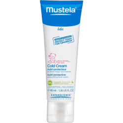 Mustela cold cream facial