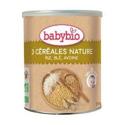 Babybio 3 cereales nature...